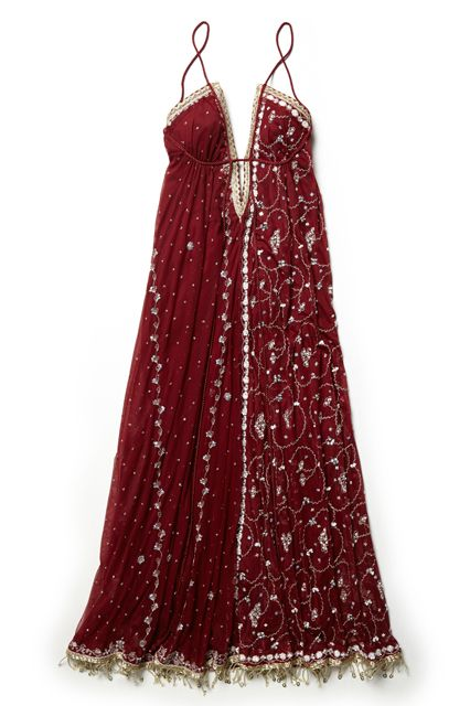 Free People Launched A Holiday Dress Shop —  Starting With A $250 Ball Gown #refinery29  http://www.refinery29.com/free-people-holiday-party-dresses#slide2  For the boho belle of the ball.
