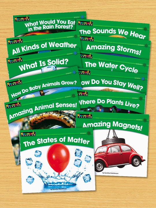 Nonfiction Science Leveled Readers – Levels D-I