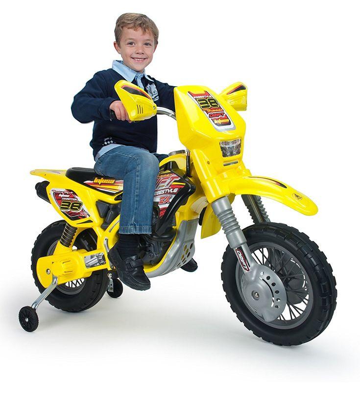 MOTO ELECTRICA 12V NIÑOS - MOTO THUNDER 12V INJUSA - MOTOS PARA NIÑOS, IndalChess.com Tienda de juguetes online y juegos de jardin