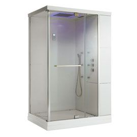 17 migliori idee su douche hydromassante su pinterest - Cabine de douche design pas cher ...