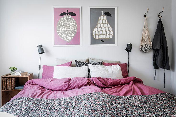 apartment by 55kvadrat.se / bedroom