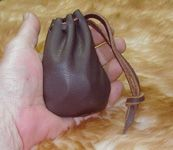 Medieval Leather Coin Pouch