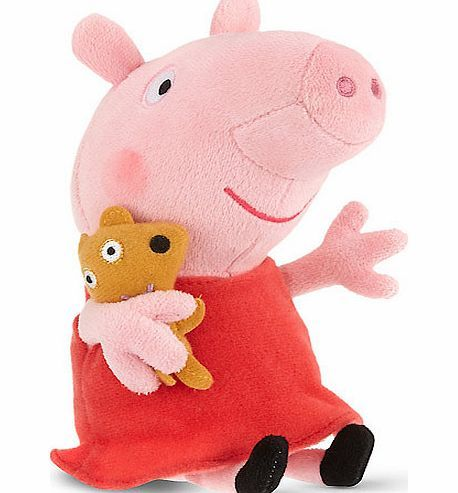 Peppa Pig TY Beanies Peppa Pig Peppa Soft Toy Hug n squeeze this adorable Peppa Pig Soft Toy!Shes made of high quality material and looks just like the star of the Peppa Pig TV show.This TY Beanie is a great gift for all ages. Please note: hand w http://www.comparestoreprices.co.uk/soft-toys/peppa-pig-ty-beanies-peppa-pig-peppa-soft-toy.asp