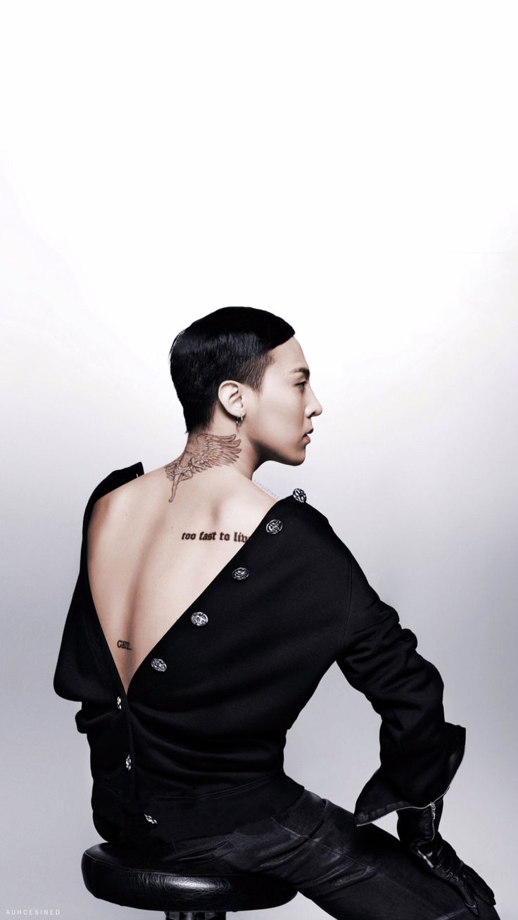 G-Dragon for Vogue Korea 20th Anniversary Issue (Without Watermark and Colored)