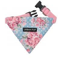 Hundehalsband mit Halstuch Floral