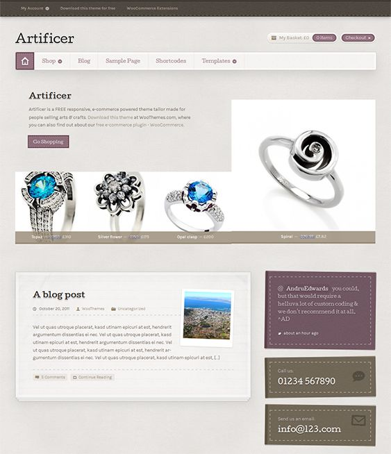 18 best The Best Free & Premium Ecommerce WordPress Themes images on ...
