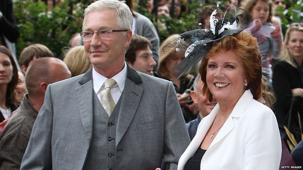 Cilla Black, right, with Paul O'Grady. Best mates - Paul will miss her so, so much.