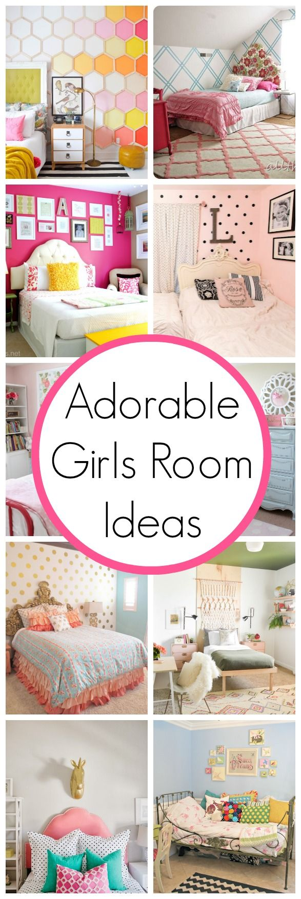 Super Cute Girls Room Ideas | www.classyclutter.net