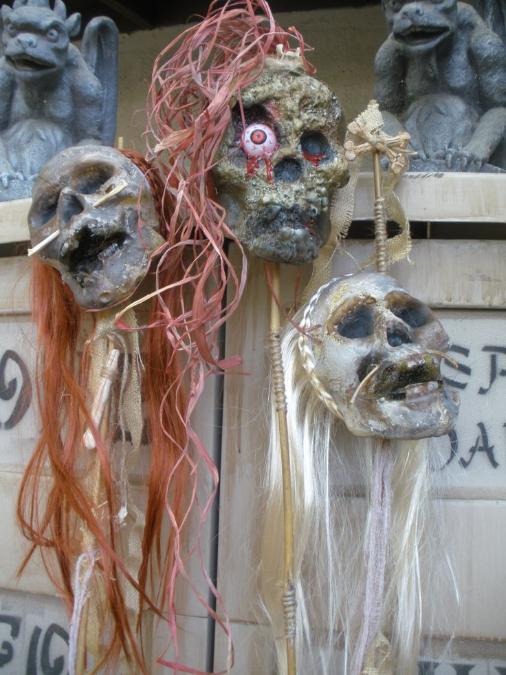115 best Halloween voodoo swamp ideas images on Pinterest ...