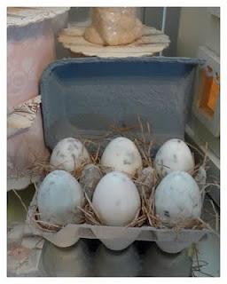 Homemade egg-shaped soap myrepurposedlife.net