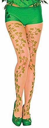 Poison Ivy Kostüm selber machen Strumpfhose | Kostüm-Idee für Damen zu Karneval, Halloween & Fasching