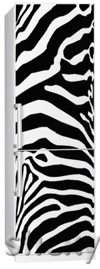Fridgy Sticker ZEBRA by Sticky!!!