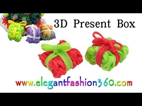NEW EASY Snow Cone Charm Rainbow Loom Tutorial - YouTube