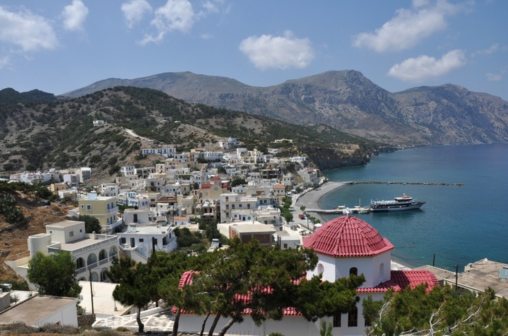 Known for its famous beaches the island of Karpathos is the second largest of the Dodecanese Islands