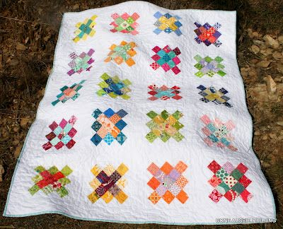 Granny Square quilt by Gone Aussie Quilting