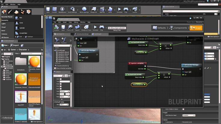23 best ue4 tuto images by marie duponchelle on pinterest third introduction to third person blueprint game 15 character blueprint malvernweather Image collections