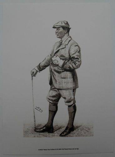 $15.50  Golf ART Print Vanity Fair Golfers III BY SPY   eBay