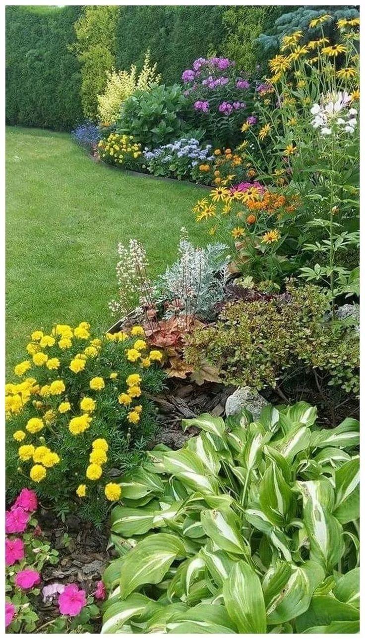 45 Einfache Ideen Fur Den Vorgarten Landschaftsbau Mit Kleinem Budget 4 Backyard Landscape Architecture Cottage Garden Design Backyard Landscaping Simple backyard flower garden ideas