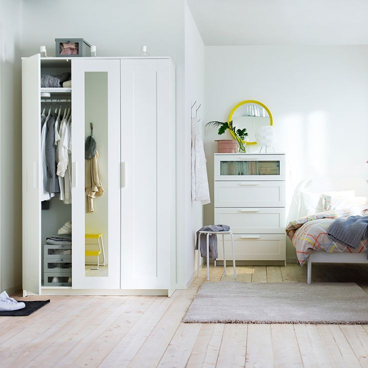 Big storage possibilities for small spaces storage for Bedroom storage inspiration