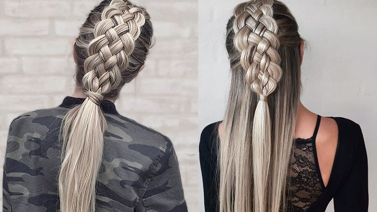 18 Best 7 Strand Braid Images On Pinterest Hair Dos