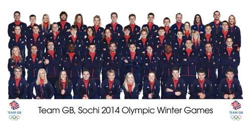 Totalposter.com - Winter Olympics Team GB