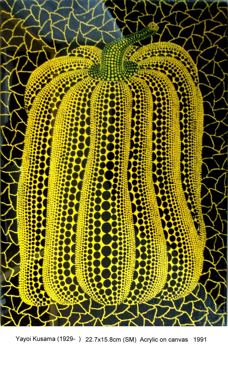 Autor: Yayoi Kusama Fecha de elaboración: 1991 Técnica: Acrilico sobre lienzo Tipo de obra: Pintura