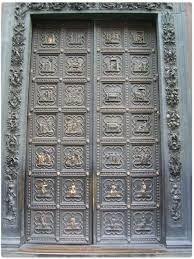 ANDREA DA PONTEDERA (noto come andrea Pisano), Prima porta del battistero, 1325,  Firenze