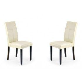 Krzesło Kerry Bis Halmar beż zestaw 2 krzeseł