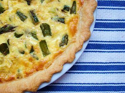 Asparagus and Leek Quiche