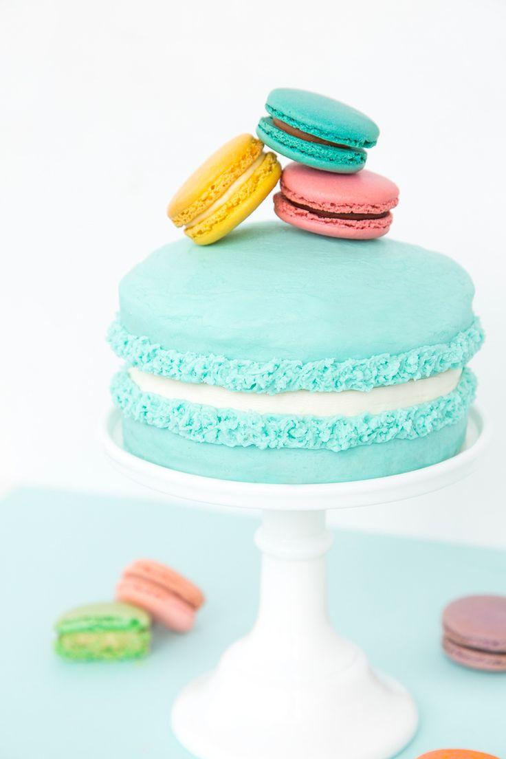 Più di 25 fantastiche idee su Macaron Cake su Pinterest ...