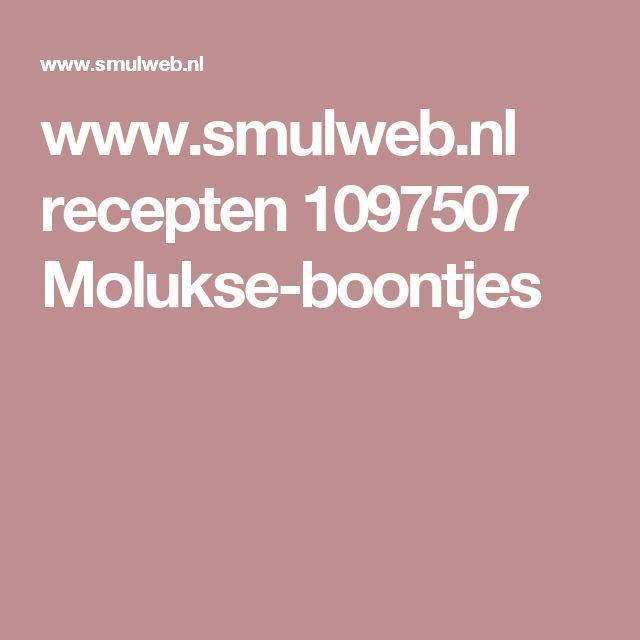 www.smulweb.nl recepten 1097507 Molukse-boontjes