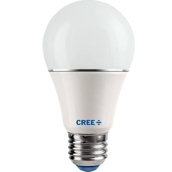 Cree 75W Equivalent Soft White (2700K) A19 Dimmable LED Light Bulb