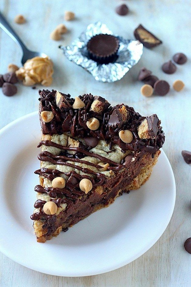 Peanut Butter Chocolate Cookie Cake