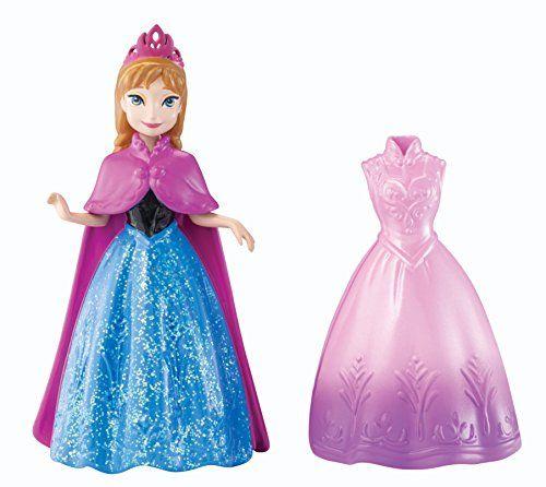 poupée MagiClip Anna de Disney Mattel