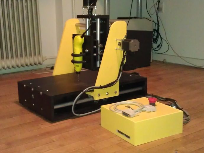 Cheap CNC Router small version by nic6911 - Thingiverse