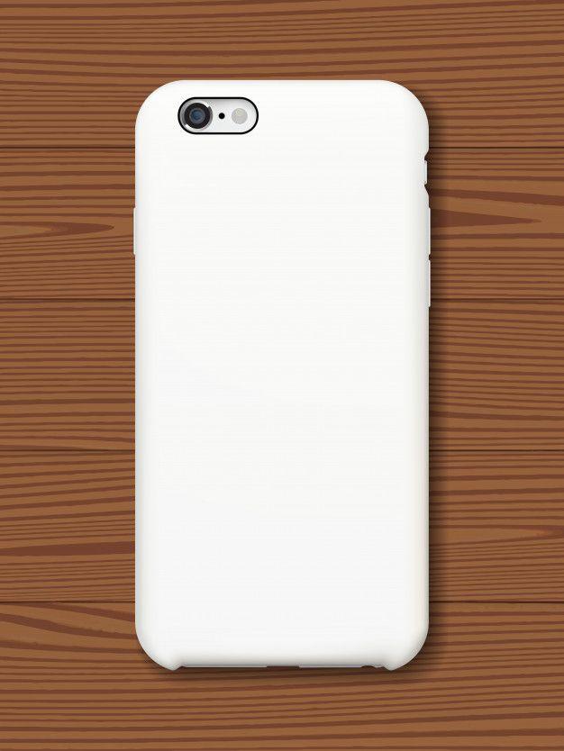 Download Smartphone Back Cover Mock Up On Wooden Background Mockup Mobile Legend Wallpaper Smartphone