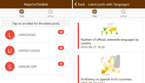 - Try the new MapsOnTheWeb tag notification app for Android...