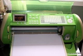 How to cut contact paper (to look like vinyl) with your Cricut