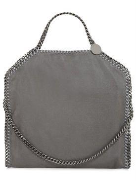 """stella mccartney - женщины - сумки на ремне - сумка """"falabella shaggy"""" из искусственной кожи"""