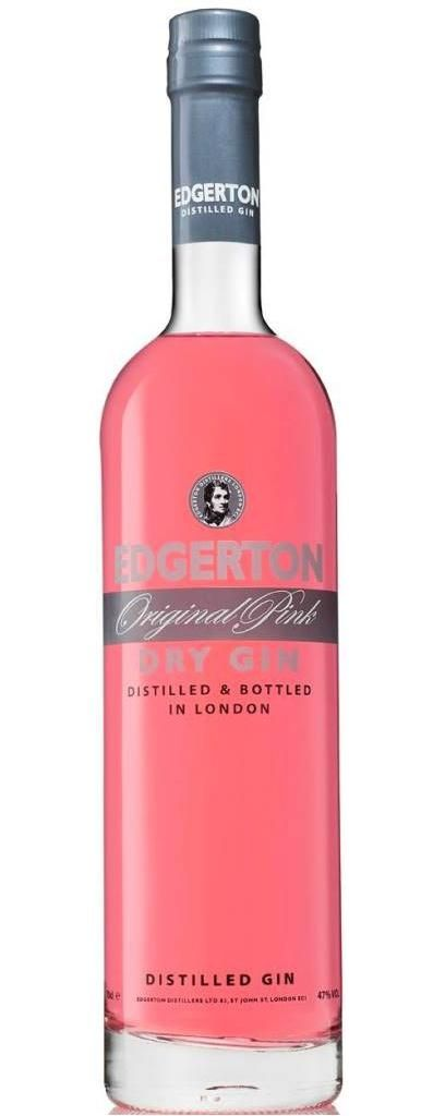 Edgerton Original Pink Dry Gin ginfusion