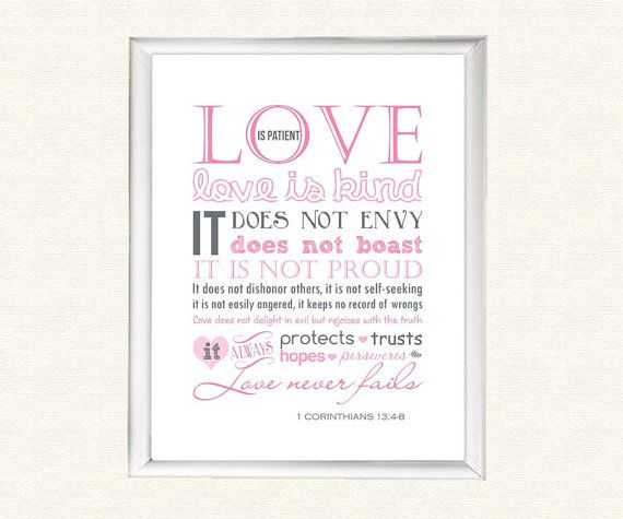 Wedding Reading Love Is Patient: 1000+ Images About A BIBLE WORD VERSE 20 On Pinterest