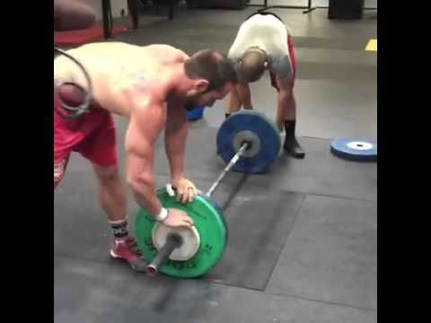 Rich Froning, Mat Fraser - CLEAN AND JERK WOD 2016