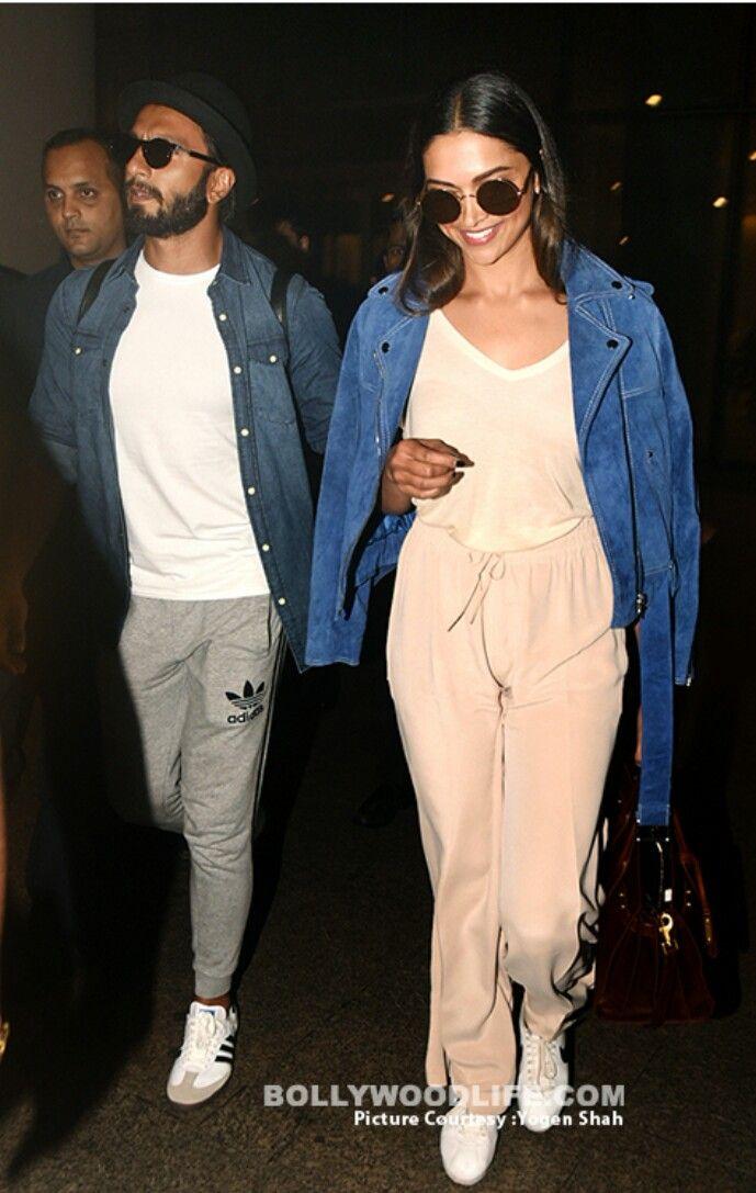 Ranveer Singh And Deepika Padukone Returning From Their Week Long Vacation In Maldives Deepika Ranveer Deepika Padukone Fashion