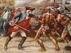 The French and Indian War was the British versus the French and Indians. They began to fight over the land in 1754 because each group wanted to own it. In 1763, they made a treaty and the war ended.