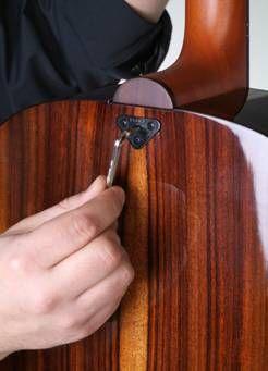 Babicz Guitars USA- Babicz Full Contact Hardware and Babicz Guitars - Babicz Continually Adjustable Neck