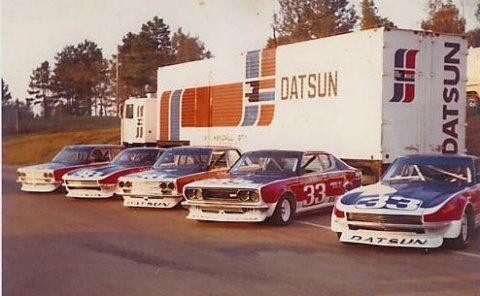 1972 Datsun 610 B-Sedan Bob Sharp Race Car Team