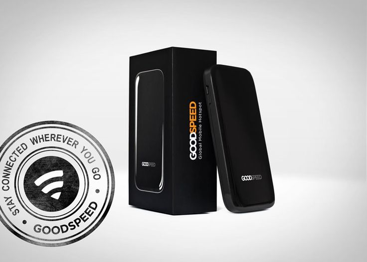 Goodspeed hotspot comes in a neat package.