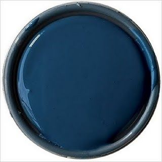 """Hague Blue No. 30 by Farrow & Ball ... a great door color my cottage is entirely gray, black & white both interior and exterior except for a Hague Blue 44"""" wide 1926 Front Door it is stunning !"""