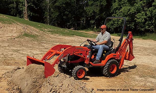 We just bought one of these...Kubota BX25