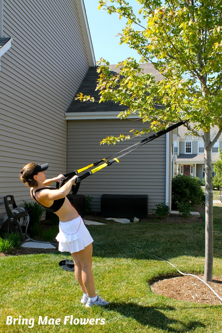 My TRX Suspension Trainer has done more to tone and shape my body than anything in my life!